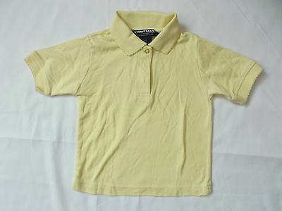 toddler unisex school shirt short sleeve by french toastsize 4 yellow A06