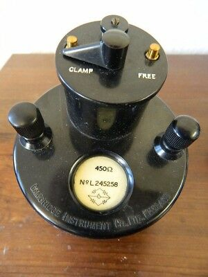 Vintage  Cambridge  Instruments  Ltd.  Mirror  GALVANOMETER  ( Working  Order )