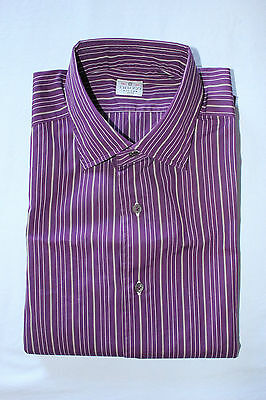 Truzzi Milano camicia slim fit (no kiton no barba) man shirt Mis it 39 15 3/4