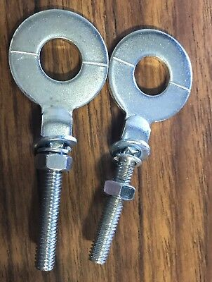 2 X Chain Adjuster To Suit Honda Ct110 Postie Bike With 15mm Hole