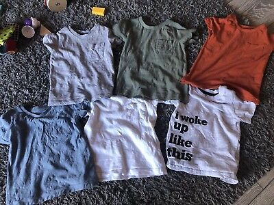 Baby Boy Tops T Shirts 9-12 Months