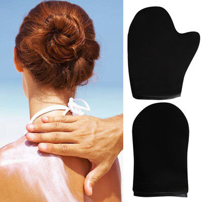 Sunless Self Tanning Applicator Mitt Glove for Lotion Spray Mousse Tanner DS0b