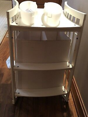 Stokke changing table white used