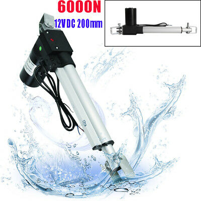 6000N Linear Actuator 12V Electric Motor 1320 Lb Auto Lift Window Door Opener DR
