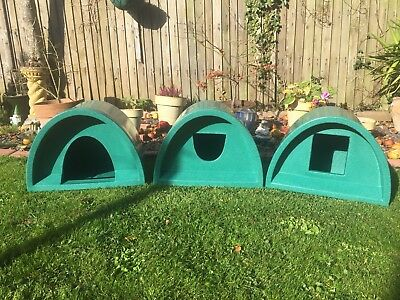 Free Postage £44.00 Outdoor Cat Shelter/kennel Cat Bed Igloo Pod Cat House