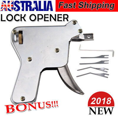 New Strong Lock Pick Gun Lock Repair Tool Kit Door Lock Opener Bump Key Tools HQ