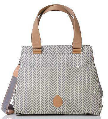 PacaPod Richmond Dove Herringbone Designer Baby Changing Bag