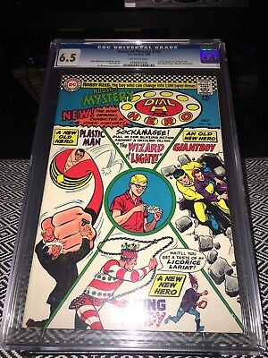 House of Mystery #160 CGC  6.5 1st Silver Age Appearance of Plastic Man Key JLA
