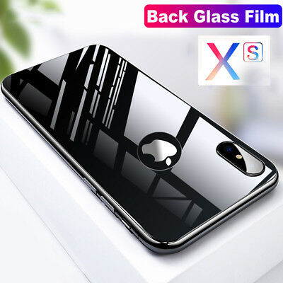 3D Back 9H Tempered Glass Rear Toughened Protective Cover For iPhone Xs Max XR