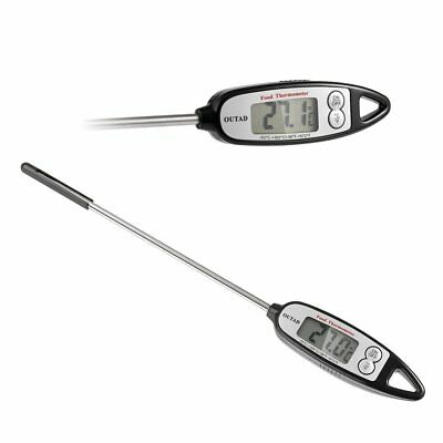 OUTAD Digital Cooking Thermometer Pen-style LCD Display Instant Read Compact EK