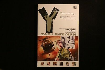 Y: The Last Man 02: Cycles VGC Graphic Novel TPB