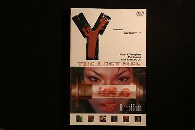 Y: The Last Man 05: Ring of Truth VGC Graphic Novel TPB