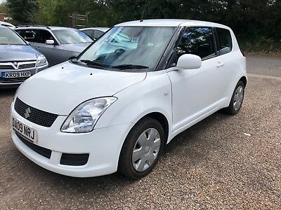 2009 09 Suzuki Swift 3 Door * White * Low Miles * History * 1 Owner From New