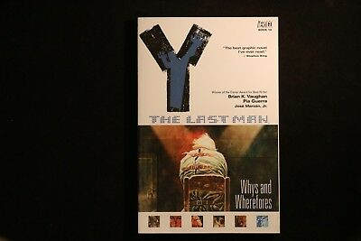 Y: The Last Man 10: Whys and Wherefores VGC Graphic Novel TPB