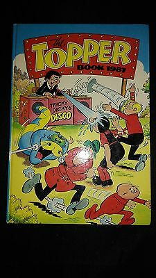 The Topper Book 1987 Vintage Comic Annual