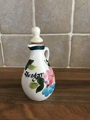 Toni Raymond Vinegar Bottle Pourer Jug With Stopper Vintage Kitchen
