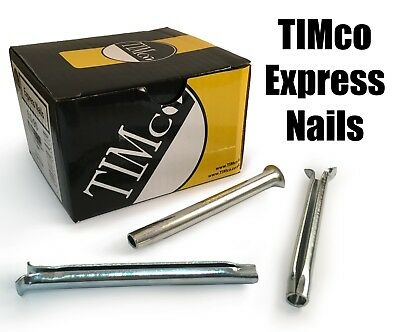 TIMco M6 M8 Express Nails Metal Anchor Masonry Brick Timber Frames Fitting