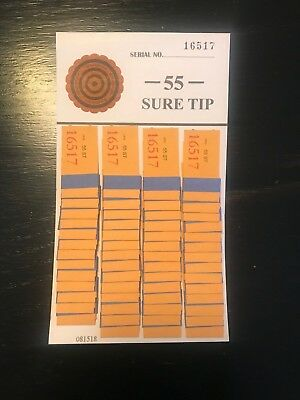 One  #55 Sure Tip Board (1-55) Free Shipping USA  MADE IN THE USA