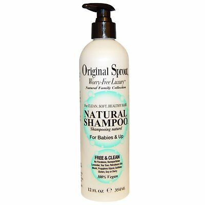 Original Sprout Inc, Natural Shampoo, For Babies & Up, 12 fl oz (354 ml)