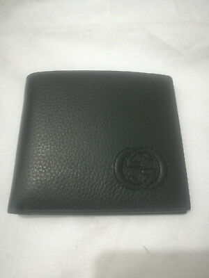 Gucci Men's Black  Leather Wallet  14