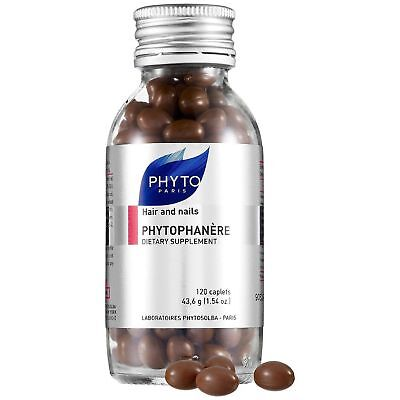 1x/2x Phyto Phytophanere hair & nails dietary supplement 120caps 2months Supply