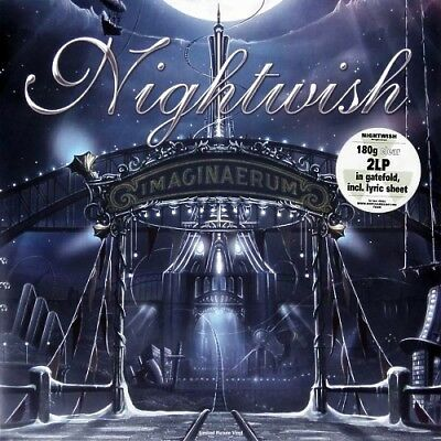 NIGHTWISH - Imaginaerum / Vinyl 2LP (Limited Edition · clear vinyl)