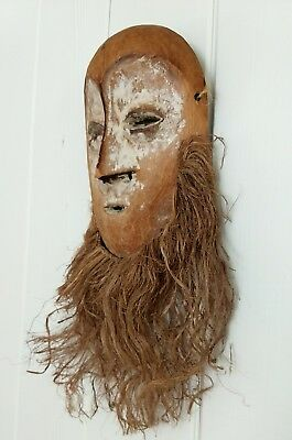 AFRICAN ART LEGA Tribal Old Lega Bwami Society Mask From the DR Congo