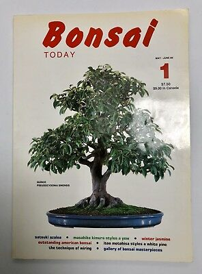 BONSAI TODAY magazine - First Edition, Issue #1 May/June 1989