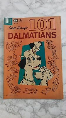 Dell comics 101 Dalmatians no.1183 1961 walt disney