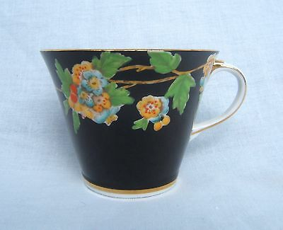 Vintage Aynsley England Hand Painted Cup Limited Numbered Beautiful Very Rare