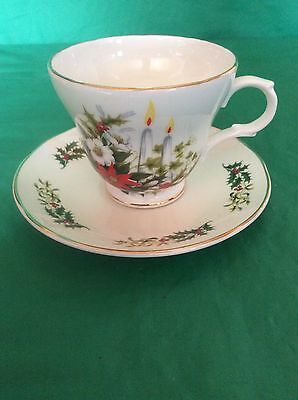 Crown Trent Staffordshire Fine Bone China England Cup & Saucer