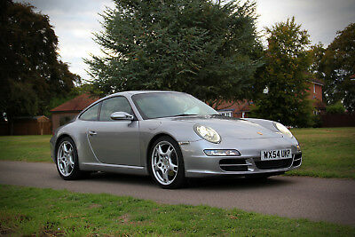 Exceptional 2004 Porsche 997 C2 3.6 manual coupe with FSH and only 62K miles
