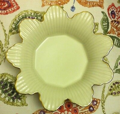 Lenox Meridian Collection Candy Dish with Gold Trim - Discontinued - Made USA