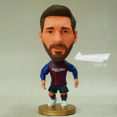 BARCELONA 2018-2019 Soccer Football Star 10# LIONEL MESSI Toy Figure Doll