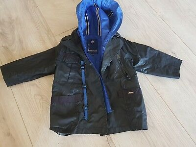 impermeable trench timberland 18 mois 80 cm