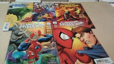 5 comic lot 2018 The Amazing Spider-Man issues # 1 through # 5 1st Prints VF/NM+