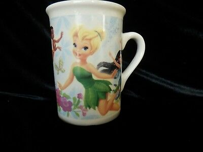 Disney 2011 Tinkerbell Fairies Mug with Pixies Rosetta, Iridessa and Silvermist