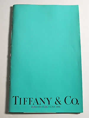 1986 Tiffany Catalog Summer Selections Jewelry & More 42 Pages