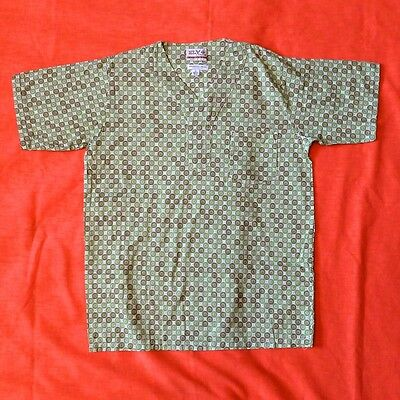 Ely & Walker Customized Vintage Pajama Top Boy's Size 14 Geometric Atomic
