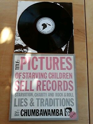 Chumbawamba - Pictures Of Starving Children Sell Records Vinyl Lp