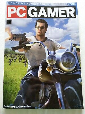 PC Gamer magazine #320 August 2018 (Subscriber Edition) Serious Sam 4 video game