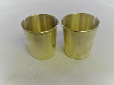 Pair of  W. Bell&Co.  Sterling Silver  Cups Tumblers #12