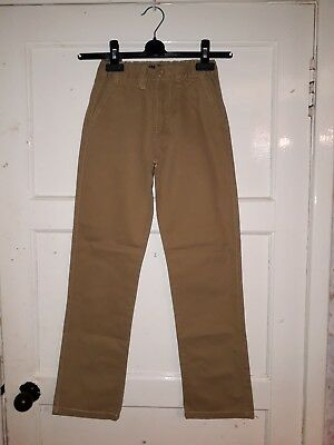 Boys Denim Co Slim Fit Trouser Jeans Brown Age 10 - 11 Years