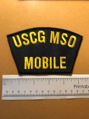 U.s. Coast Guard Uscg Mso Mobile Alabama Al Patch