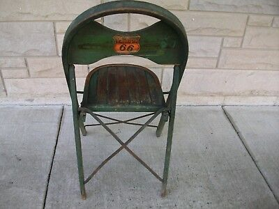 Antique Phillips 66 Folding Chair
