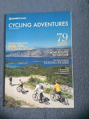 Exodus Travels Cycling Adventures 2017/18 Brochure Catalogue