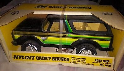 Nylint Cadet Bronco  New In Original Box, No. 1010 vintage