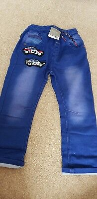 Next Boys Car Jeans Size 3-4years