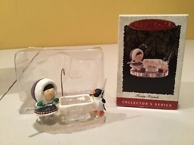 Hallmark Keepsake Ornament Frosty Friends 1996