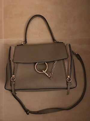 47663a91df4 CHLOÉ FAYE HANDTASCHE Medium -Motty Gray - EUR 349